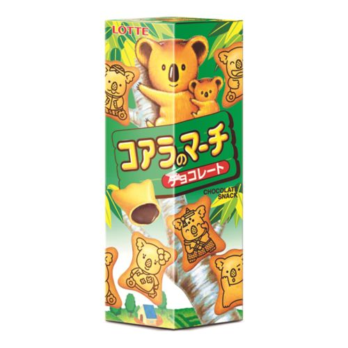 [Old Barcode] Lotte Koala's March Biscuit - Chocolate Flavour 49g