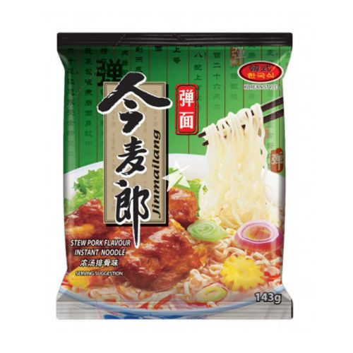 [Old Barcode] Jinmailang Korean Style Noodles Stew Pork Flavour 143g