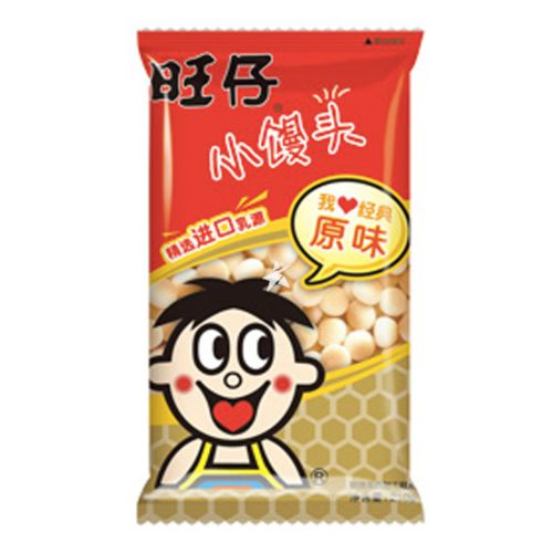[Old Barcode] Want Want Small Man Tou Original Flavour 210g