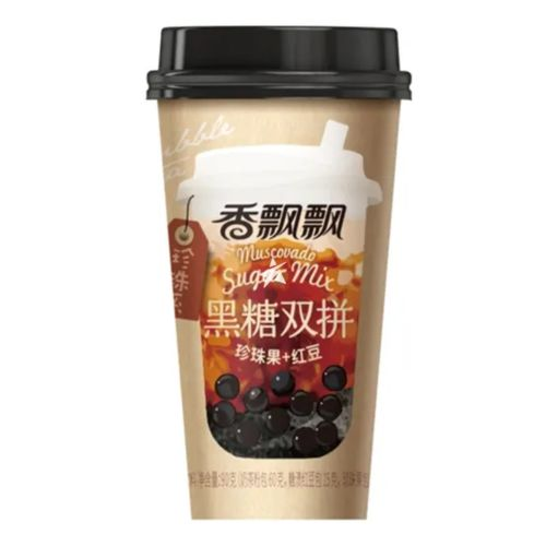 Xiang Piao Piao 香飘飘黑糖双拼奶茶 90g