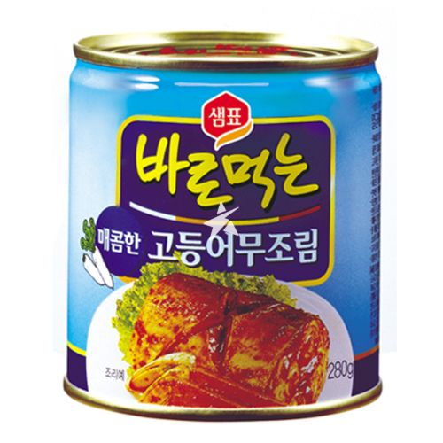 [Old Barcode] Sempio Cooked Mackerel In Spicy Sauce 280g