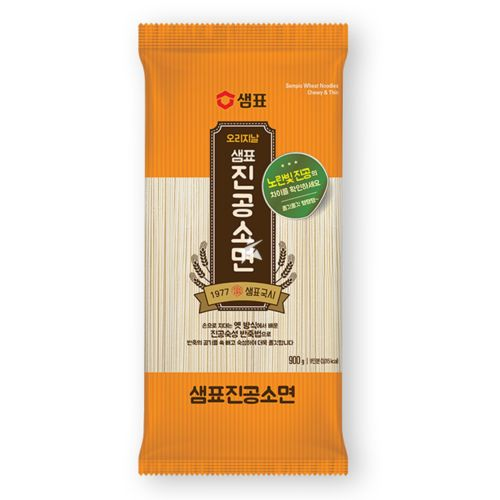 Sempio Wheat Noodles - Chewy & Thin 900g