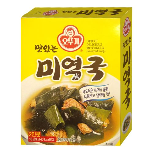 [Old Barcode] Ottogi Instant Seaweed Soup (Miyeokguk) 2 Servings 18g