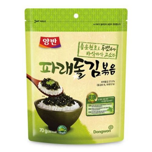 Dongwon Fried Green Laver 70g