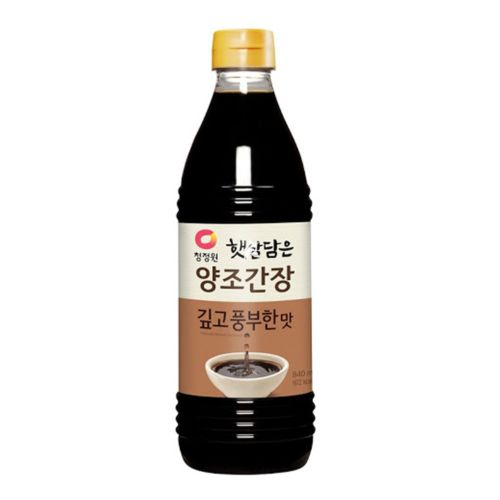 Daesang Chung Jung One Naturally Brewed Soy Sauce (Deep Flavour) 840ml