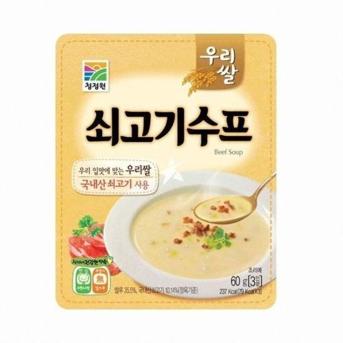 [Old Barcode] Daesang Chung Jung One Beef Soup 60g 3 servings