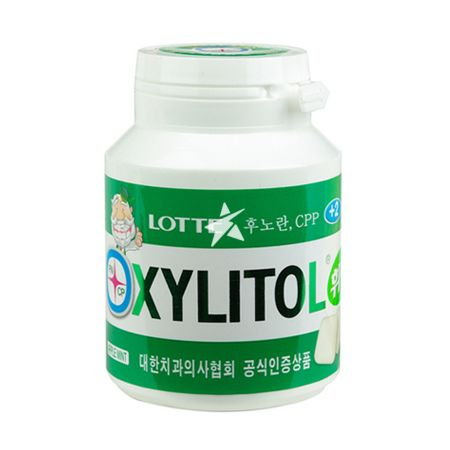 Lotte Xylitol Chewing Gum Bottle - Original 90g