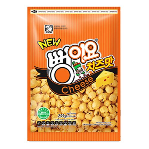 Seoul Food Sweet Corn Snack Cheese Flavour 255g