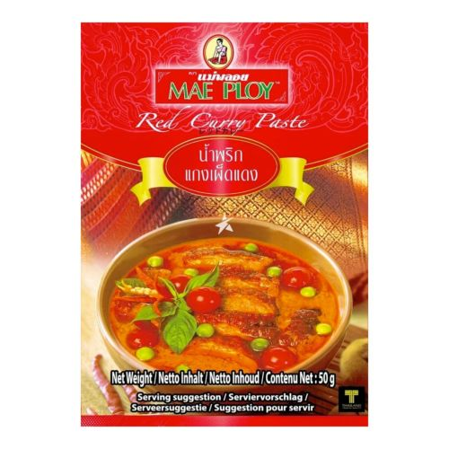 Mae Ploy Red Curry Paste 50g