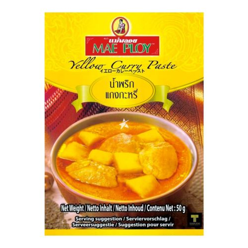 Mae Ploy Yellow Curry Paste 50g