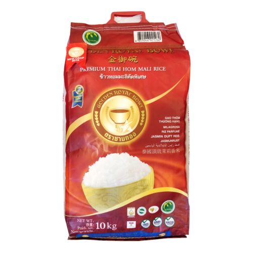 Golden Royal Bowl Premium Thai Hom Mali Rice 10kg