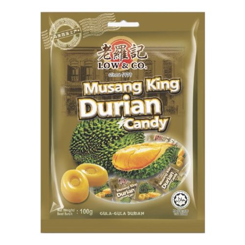 Low & Co Musang King Durian Candy 100g