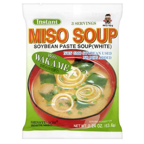 [Old Barcode] Miko Brand Instant Wakame Miso Soup 63.6g 3 Servings