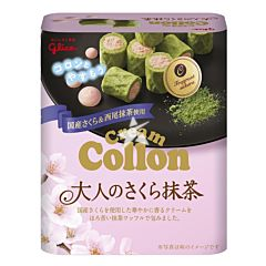 Glico Cream Collon Sakura & Matcha 48g