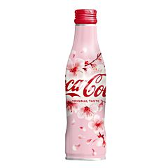 Coca Cola Original Taste 2020 Sakura Bottle 250ml
