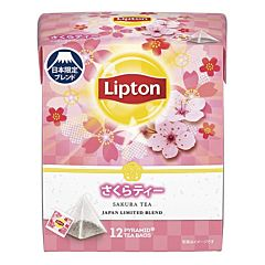 Lipton Sakura Tea Japan Limited Blend (1.6g*12 Tea Bags) 19.2g