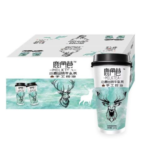 The Alley Lujiaoxiang Matcha Milk Tea 123g (20 Cups)
