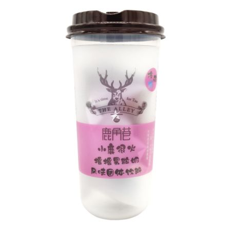 The Alley Lujiaoxiang Milk Tea - Pitaya Flavour 123g