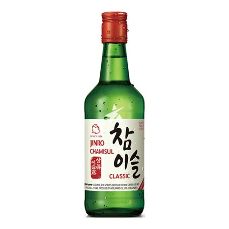 Jinro Chamisul Classic Soju Alc 20.1% by Vol. 350ml