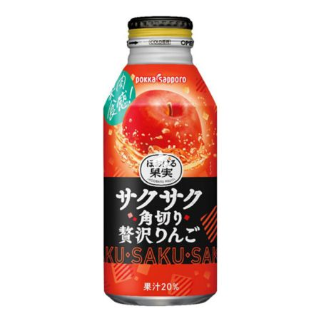 Pokka Sapporo Rich Apple Juice (With Dices) 400ml