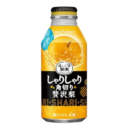 Pokka Sapporo Rich Pear Juice (With Dices) 400ml