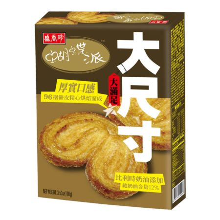 [Old Barcode] Triko Food Palmiers (Butter Flavour) 100g