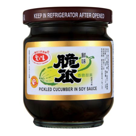Agv Pickled Sliced Cucumber In Soy Sauce 170g