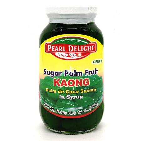 Pearl Delight Green Sugar Palm Fruit (Kaong) in Syrup 340g