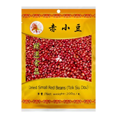 Golden Lily Dried Small Red Beans (Tzik Siu Dou) 200g