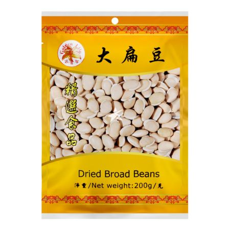 Golden Lily Dried Broad Beans 200g