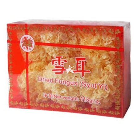 Golden Lily White Fungus Box Package 100g