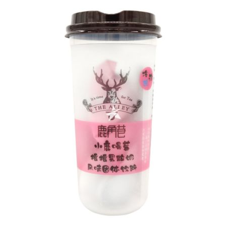 Lujiaoxiang Milk Tea - Strawberry Flavour 120g