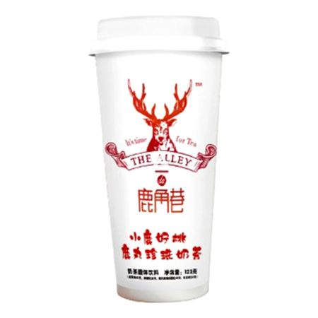 Lujiaoxiang Tapioca Tea Drink Peach Oolong Flavour 123g