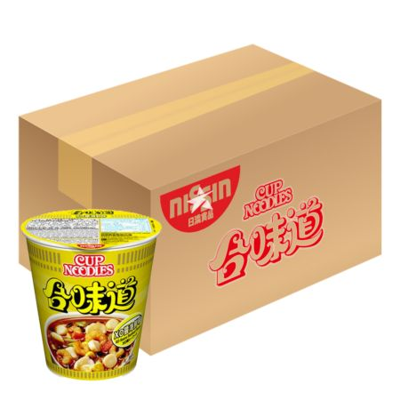 Nissin Cup Noodles - XO Sauce Seafood Flavour 75g*24 Cups