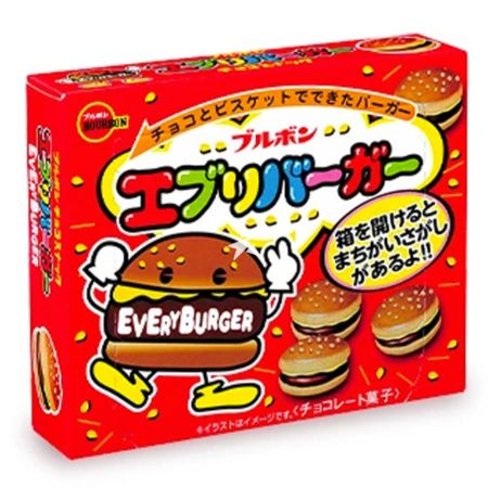 Bourbon Every Burger Chocolate Biscuit 66g
