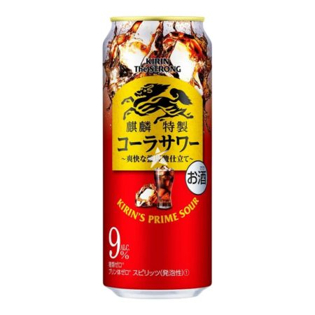 Kirin The Strong Prime Sour Cocktail - Coke 500ml 9% Acl./Vol