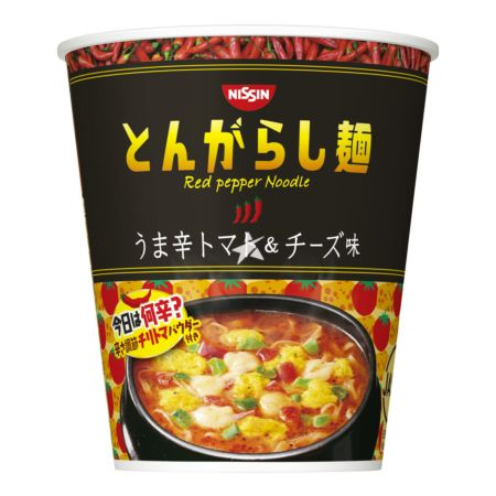 Nissin Cup Noodles (JP) - Red Pepper Spicy Tomato & Cheese Flavour 66g