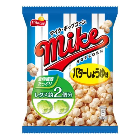 Fritolay Mike Pop Corn Butter & Shoyu Flavour 50g