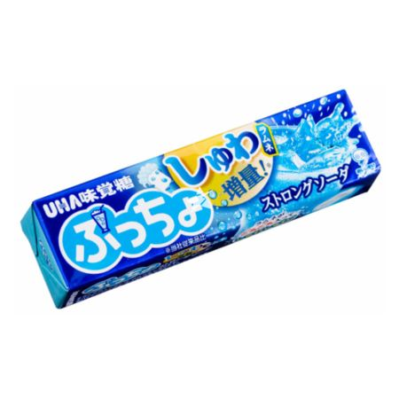 Uha Puccho Strong Soda Flavoured Chewy Candy 46g