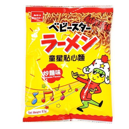 Baby Star Snack Noodle - Yakisoba Flavour 83g