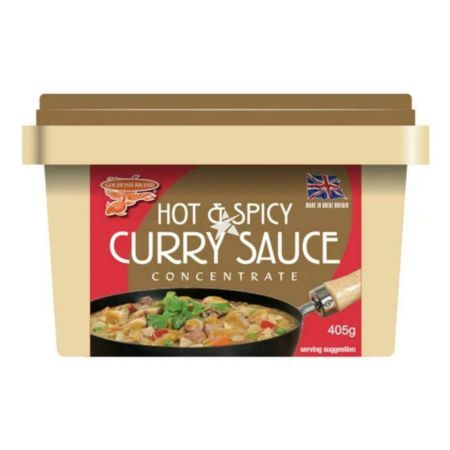 Goldfish Hot & Spicy Curry Sauce Concentrate 405g