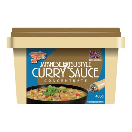 Goldfish Brand Japanese Katsu Style Curry Sauce Concentrate 405g