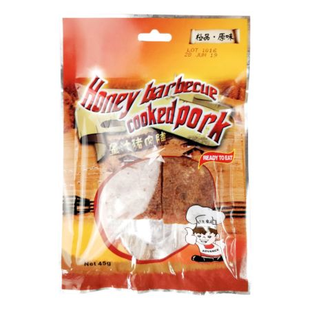 Advance Food Honey Barbecue Cooked Pork Jerky 45g