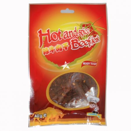 Advance Food Hot And Spice Beef Jerky 40g