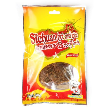 Advance Food Sichuan Hot and Spice Beef Jerky 40g