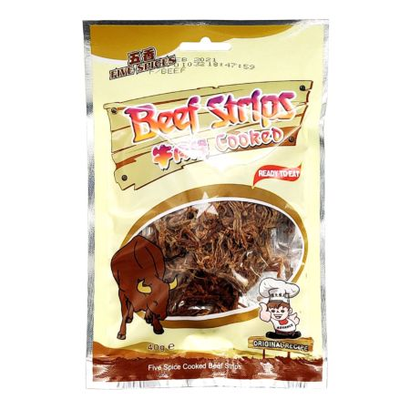 Advance Food Cooked Beef Strips Five Spices Flavour 40g