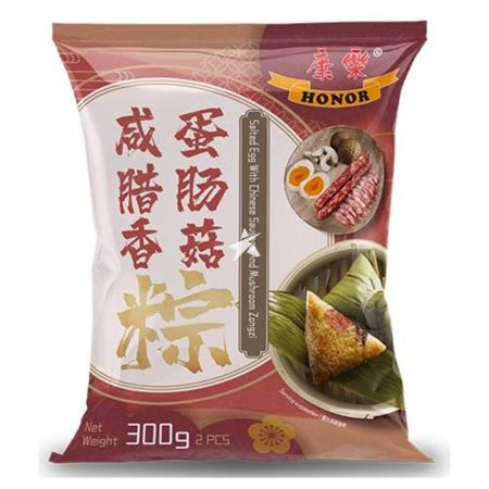 Honor Zongzi Salted Egg with Chinese Sausage and Mushroom 300g