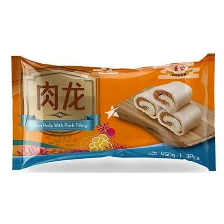 Honor Brand Bun Rolls with Pork Filling 3 Pieces 450g