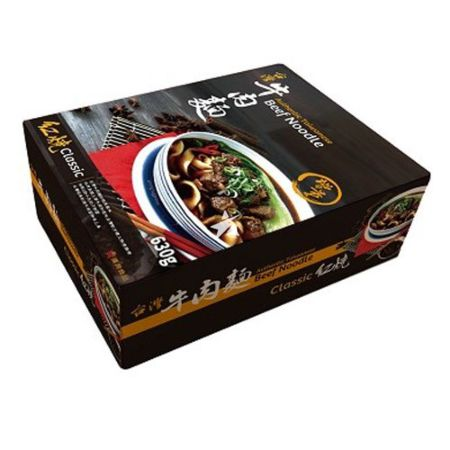 Han Dian Authentic Taiwanese Beef Noodle - Classic 1 Serving 630g