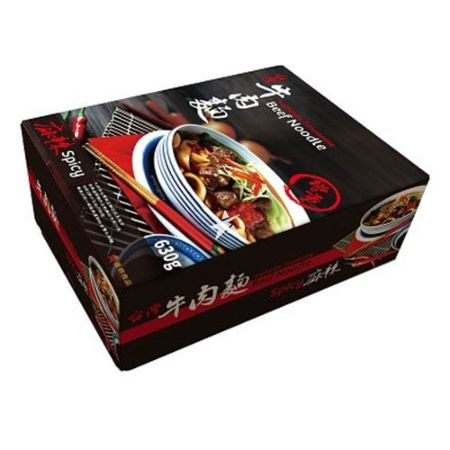 Han Dian Authentic Taiwanese Beef Noodle - Spicy 1 Serving 630g
